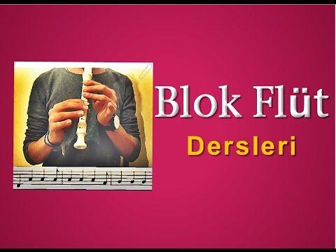 Ezgi-1 (7. Sınıf Müzik Dersi) Blok Flüt