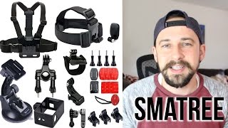 Smatree 25 in 1 GoPro Accessories Kit