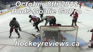 October 8th 2018 Buds Call Up Hockey Goalie GoPro