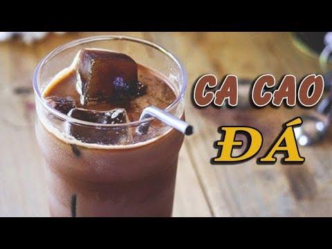 Cách làm Cacao Sữa Đá thơm ngon đúng điệu, uống là ghiền không cưỡng nổi