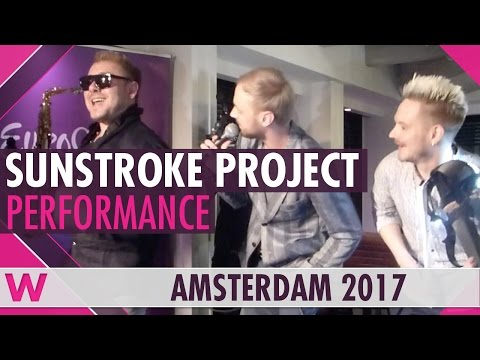 """SunStroke Project """"Run Away"""" (Moldova) LIVE at Eurovision in Concert Welcome Party 2017"""