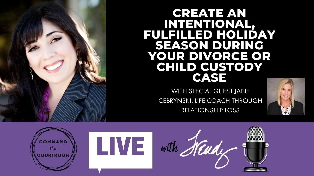 How To Create A Joy Filled Holiday During A Divorce Or Custody Battle Jane Cebrynski Youtube A chronic illness, the death of a child. youtube