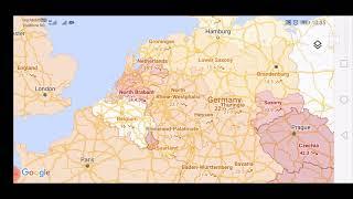 Google maps worldwide covid-19 layer for november 29, 2020