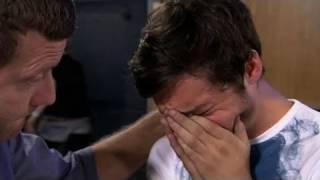 Tobias Sumpton's nerves at X Factor bootcamp - itv.com/xfactor