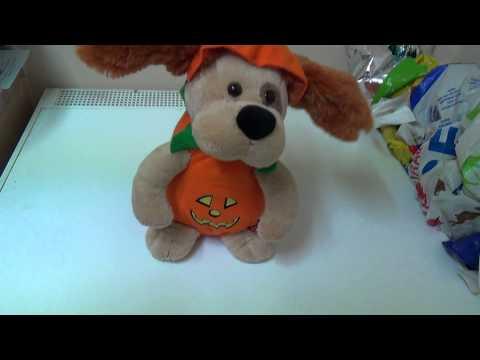 The Pumpkin Halloween Dog Toy - The Monster Mash