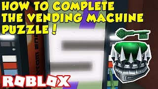ROBLOX JADE KEY VENDING MACHINE PUZZLE! EASY WAY TO COMPLETE IT! (Roblox Ready Player One Event)