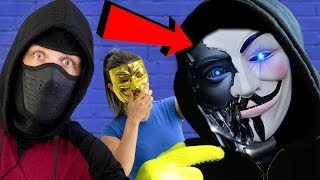 UNMASKING A HACKER ROBOT!! A PROJECT ZORGO CYBORG!? CHAD WILD CLAY CWC AND VY QWAINT NEED TO KNOW!