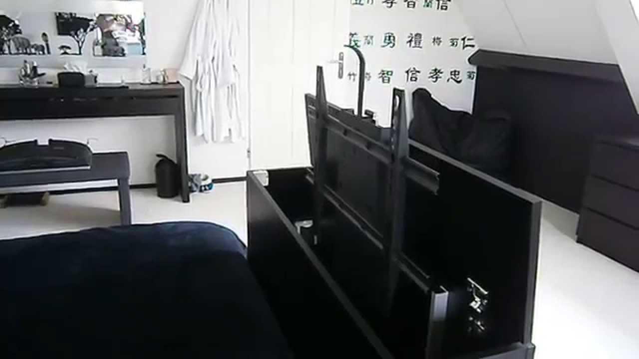 Tv Lift Meubel.Tv Meubel Met Lift Youtube