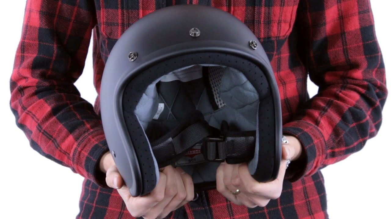 Open Face Helmet Guide
