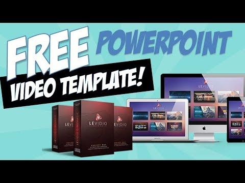 free powerpoint video template - levidio cinemagic - youtube, Modern powerpoint