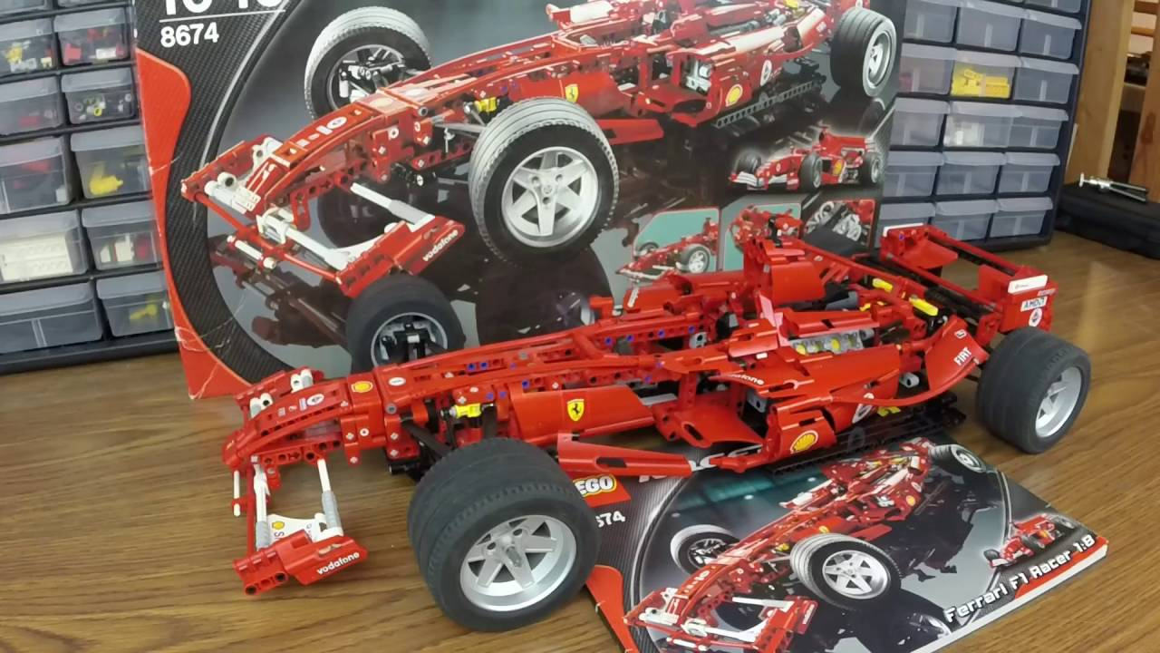 Lego Ferrari F1 Car Review Youtube