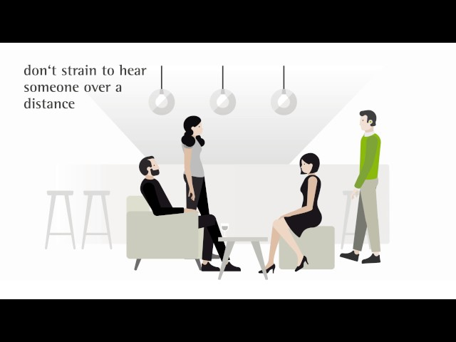 Tips to get used to your hearing aid – out and about