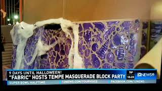 Ch 12 News coverage of our Halloween/#anniversary party