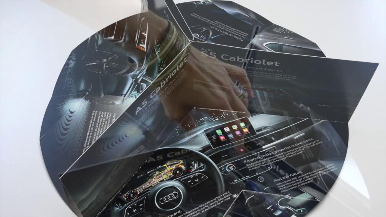 Solution Of The Week Audi Circle Brochure Mailer YouTube - Audi circle