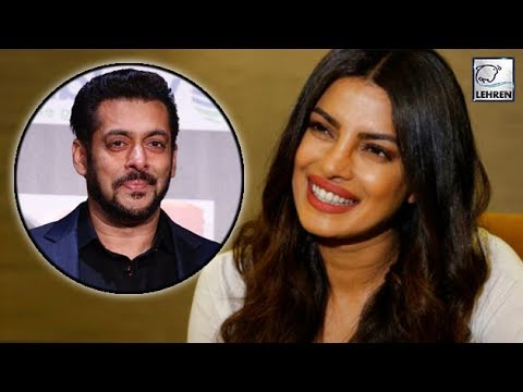 Priyanka Chopra Is EXCITED To Work In Salman Khan's Bharat    LehrenTV