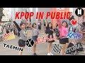 DANCING K POP IN PUBLIC CHALLENGE