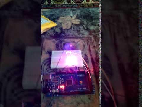 Цветомузыка Arduino Uno