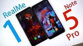 RealMe 1 vs Redmi Note 5 Pro in Depth Comparison, Build    Display    Cameras    Performance