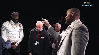 Wilder v Fury roundtable teaser | What happened after the cameras were supposed to stop filming...