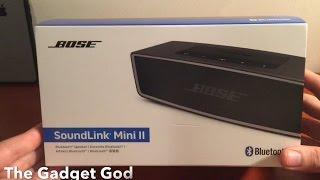 BEST BLUETOOTH SPEAKER! Bose SoundLink Mini II (REVIEW)