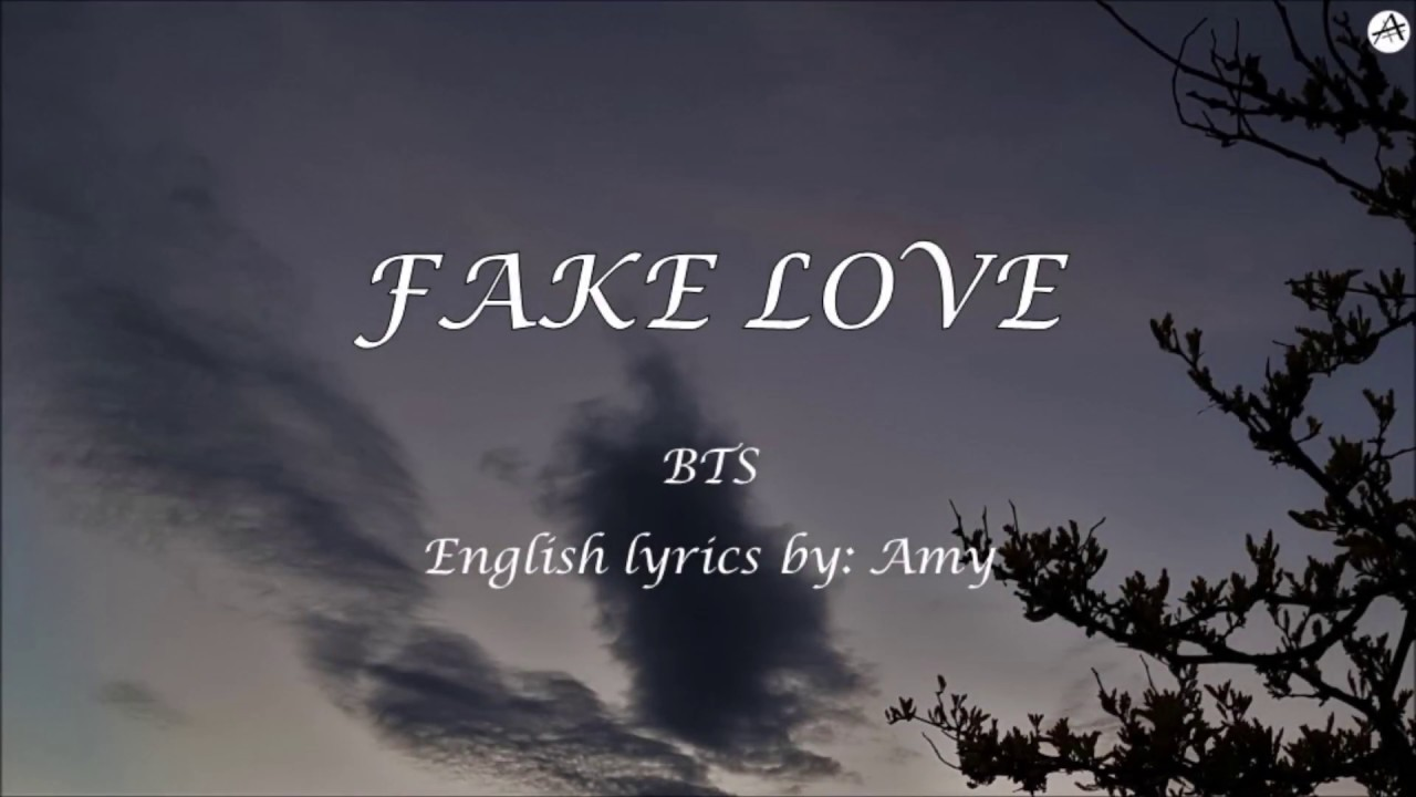Love Is Fake Quotes: English KARAOKE