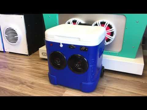 60qt Cooler Radio 2-150 Watt Speakers