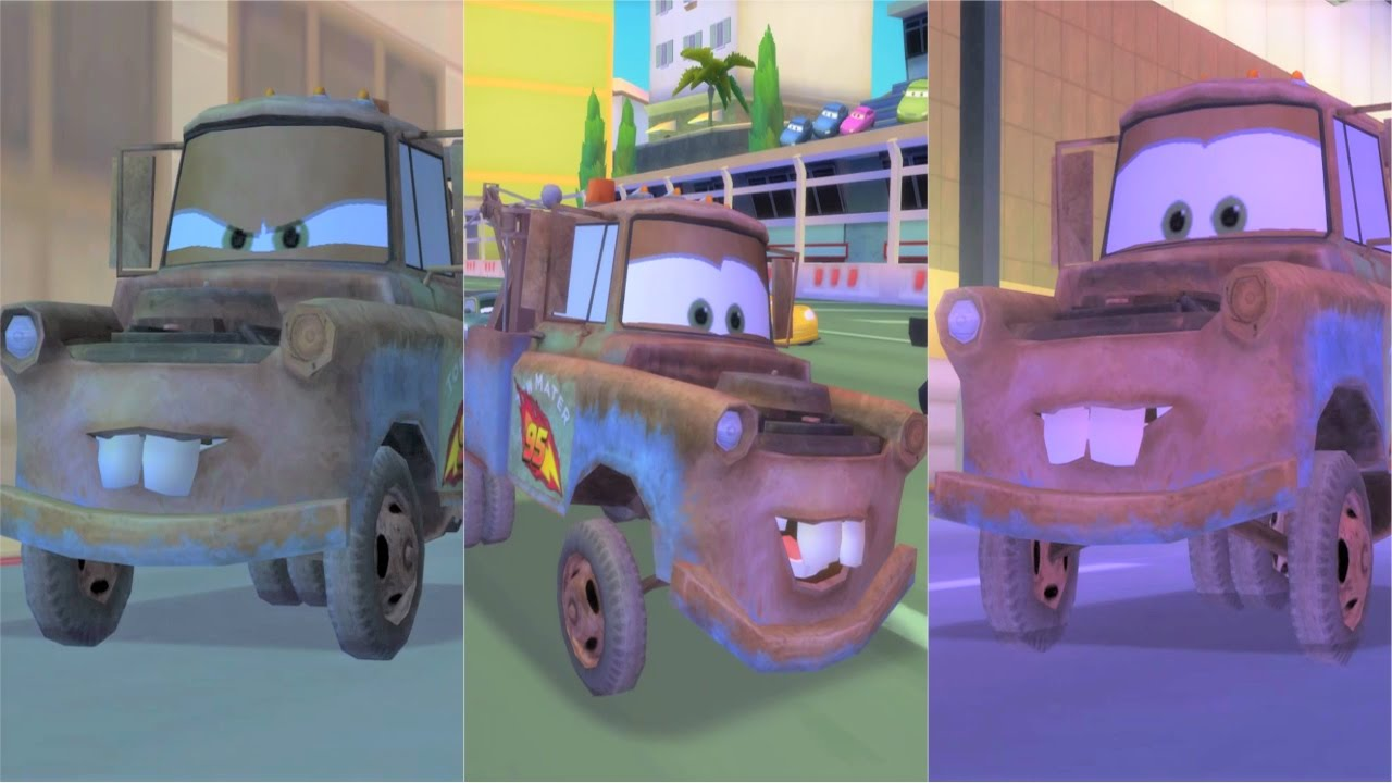 Cars 2 The Game Mater Racing in England, Italy and Japan ...