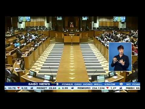 Winnie Madikizela Mandela speaks out about the anarchy in Parliament