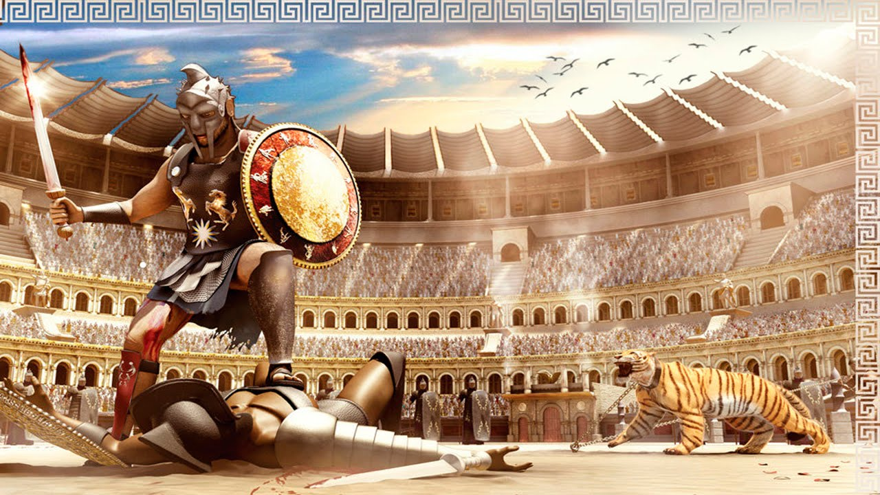 an analysis of the gladiatorial games in ancient rome In rome, commodus reopens the gladiatorial games in honour historical analysis- gladiator during the ancient roman times gladiators were men who were.