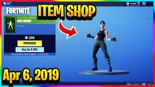 FORTNITE ITEM SHOP *NEW* JAZZ HANDS EMOTE AND RABBIT SKINS ARE BACK! | ITEM SHOP (April 6, 2019)