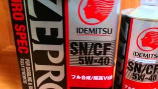 Моторное масло Idemitsu Zepro Euro Spec. Обзор.