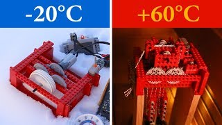 Testing Lego in Cold and Hot Temperature