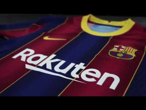 Fc Barcelona 2020 21 Home Jersey Unboxing Video Youtube