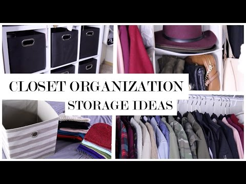 Affordable Closet Organization Ideas and Storage | My Closet Tour