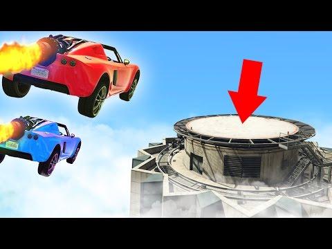 WORLDS HARDEST ROCKET FLYING CHALLENGE! GTA 5 Funny Moments