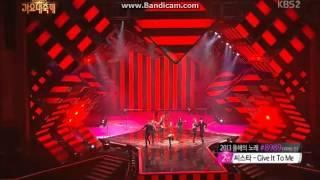 131227- miss A HUSH live stage- Gayo Daejun