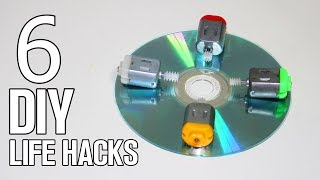 6 Incredible DIY Life Hacks