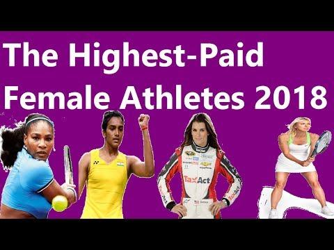 The Highest-Paid Female Athletes 2018   उच्चतम भुगतान वाली महिला एथलीट 2018