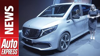 New 2020 Mercedes Eqv - Mpv Gets All-electric Treatment And 252-mile Range