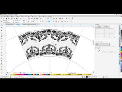 Placing Text on a Path in CorelDRAW