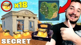 SPAWN - SECRET WITH 18 COFFRES AND ON FORTNITE !!!