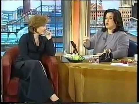 Gillian Anderson on Rosie O'Donnell