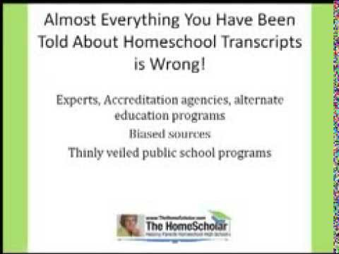 Discover Your High School Transcript for Homeschoolers That Will Help Your Child