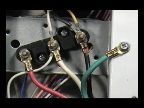 4 prongs cord Maytag electric dryer - YouTube