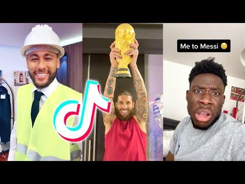 Famous Footballers Funny TikTok Videos