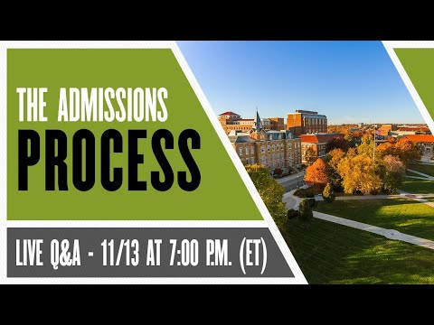 Inside Admissions: The Admissions Process