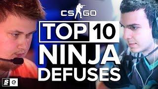 The Top 10 Ninja Defuses in CS:GO