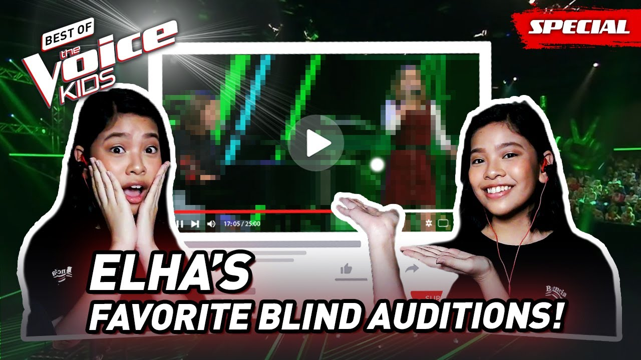 The Favorite Blind Auditions of Elha of The Voice Kids Philippines 2015! 😱
