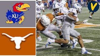 Kansas vs #15 Texas Highlights | Week 8 | College Football Highlights