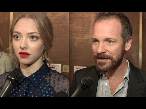 Lovelace - Premiere interviews with Amanda Seyfried & Peter Sarsgaard